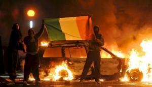 violence urbaine en Irlande